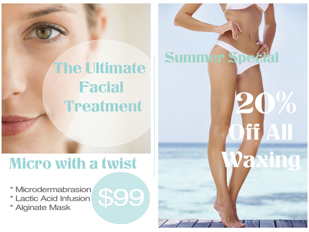 Facial & Waxing Summer Special West Palm Beach